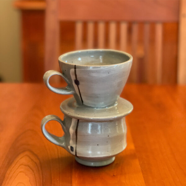 Handmade Coffee Pour-Over Set by Julie Devers