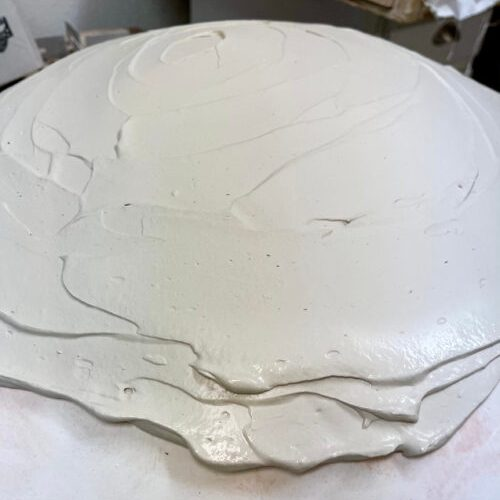 paper clay slab