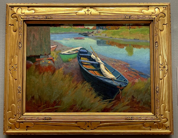 Boats at Rest painting