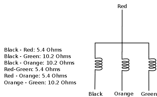 Controller with TIP41C for a BLDC (spindle) motor with 4 wires