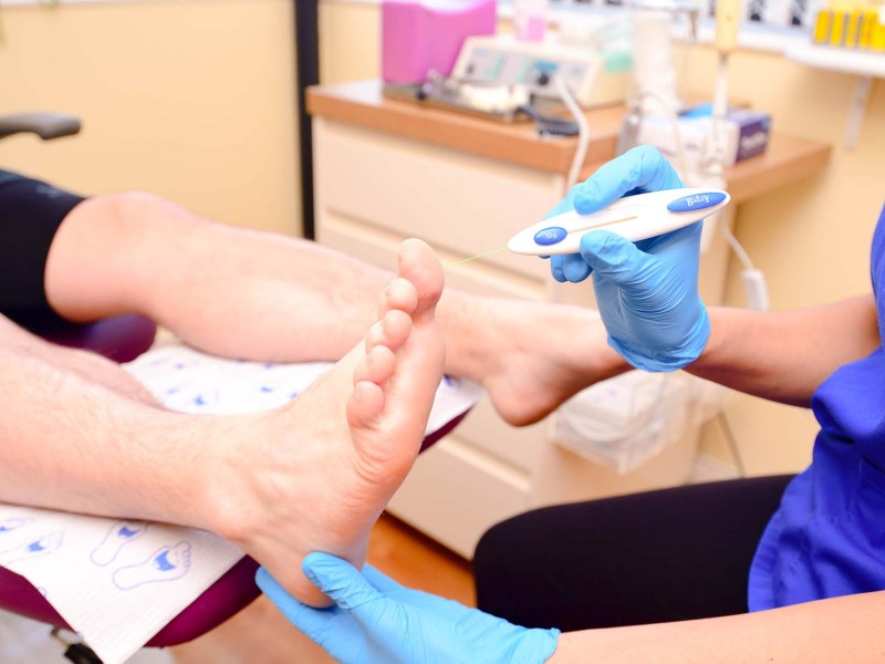 Chiropodist and Podiatrist in Whitchurch, Cardiff.