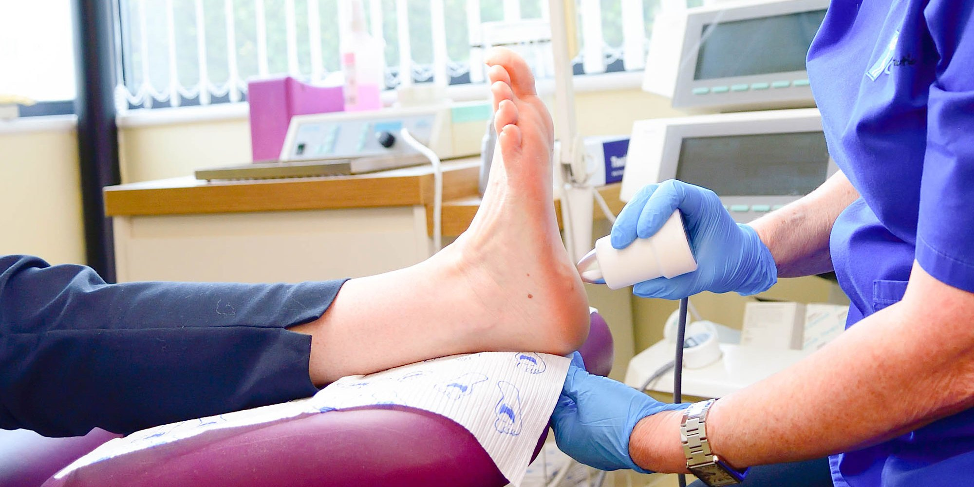 Podiatrist foot treatment Cardiff and Bridgend