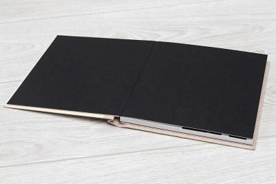 "Photo Book - 10""x10"" - Black Insert"