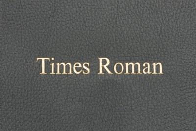 Times Roman - GOLD