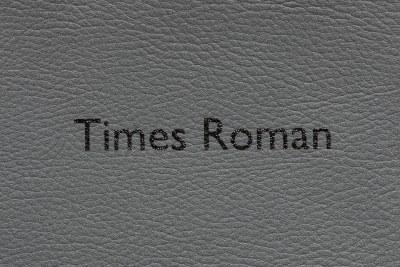 Times Roman - Vinyl - BLACK