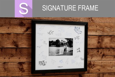 NEW Signature Frame at C41s Photo Imaging