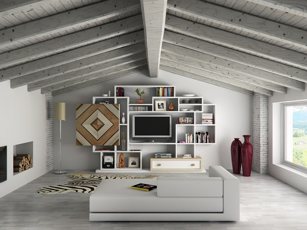 Forum Arredamentoit idee per una sala in mansarda