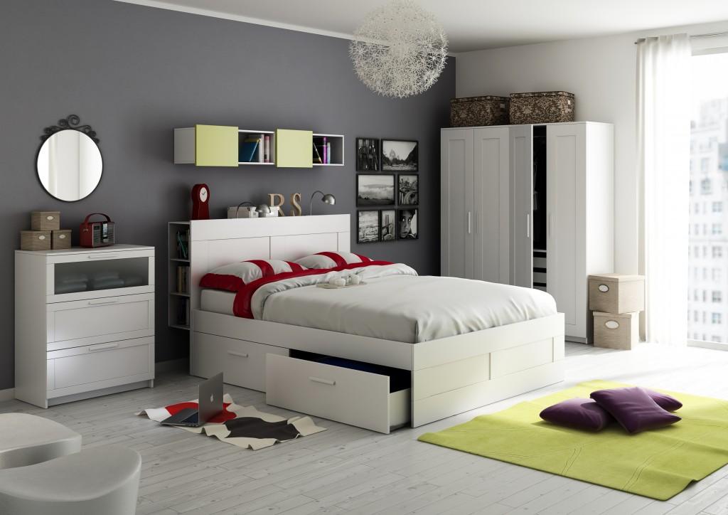 Bedroom  iKea style  Nexzac  Gallery  C4Dzone