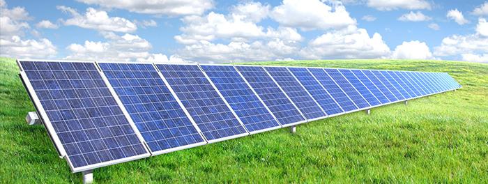 Solar on a Field
