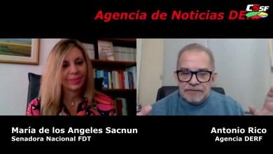 Photo of C5SF –  María de los Ángeles Sacnun – Senadora Nacional – Antonio Rico – C5SF
