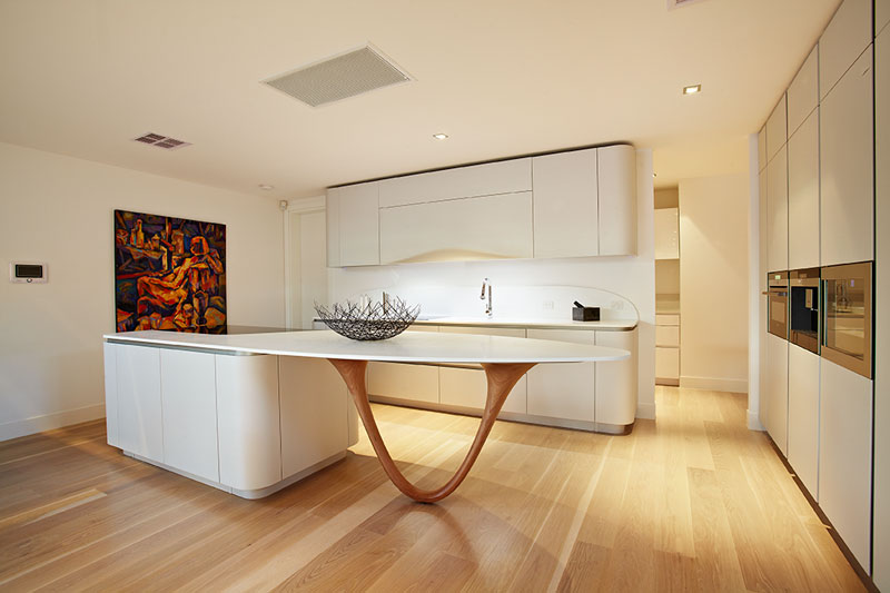 planning a kitchen island upgrade cost top 10 tips to consider when your the beautiful custom wood base of this serves as sculptural element well functional support slender v shape provides good