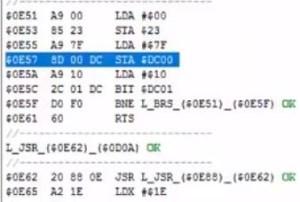 Infiltrator DC00 code