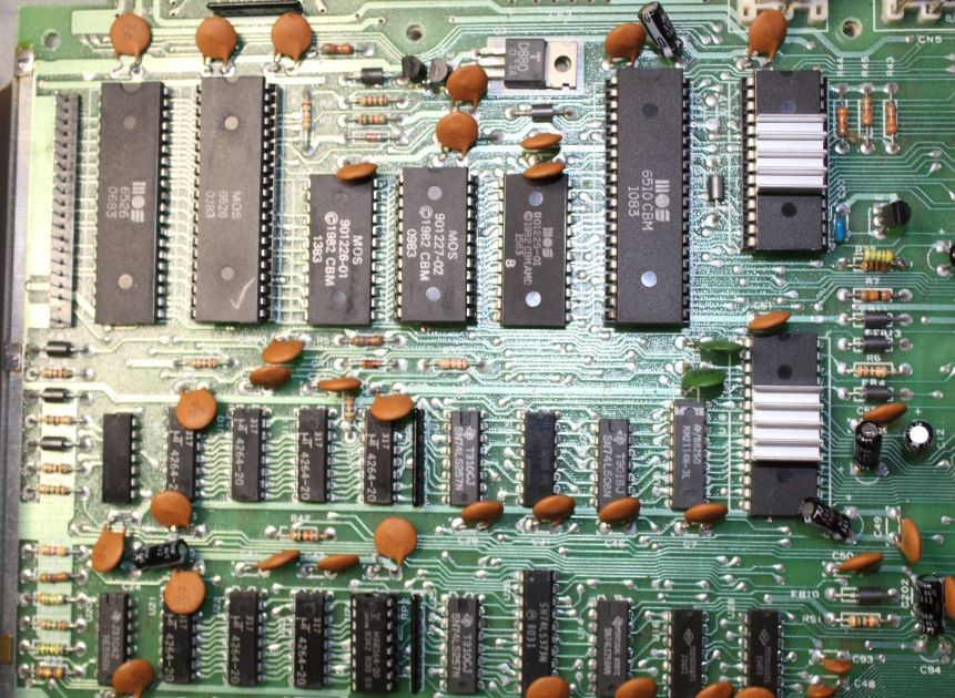 Commodore 64 Memory - Commodore 64 Brain