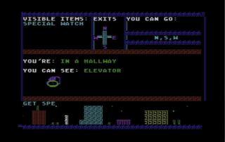 Commodore 64 LoadStar Game