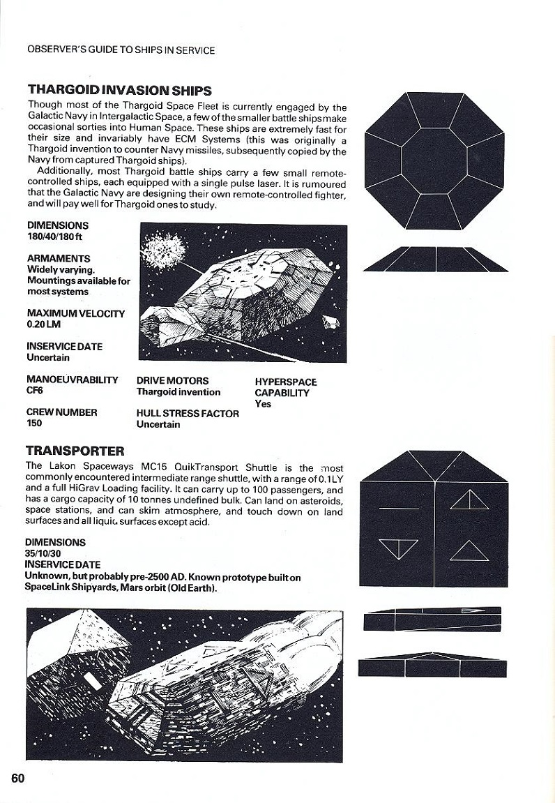 Download free Elite Space Traders Flight Training Manual