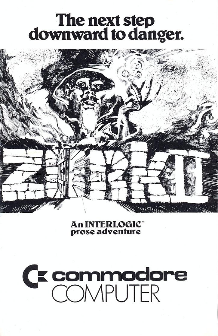 c64sets.com : Zork II: The Wizard of Frobozz manual front