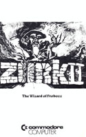 Zork II: The Wizard of Frobozz: Box and Manual Scans