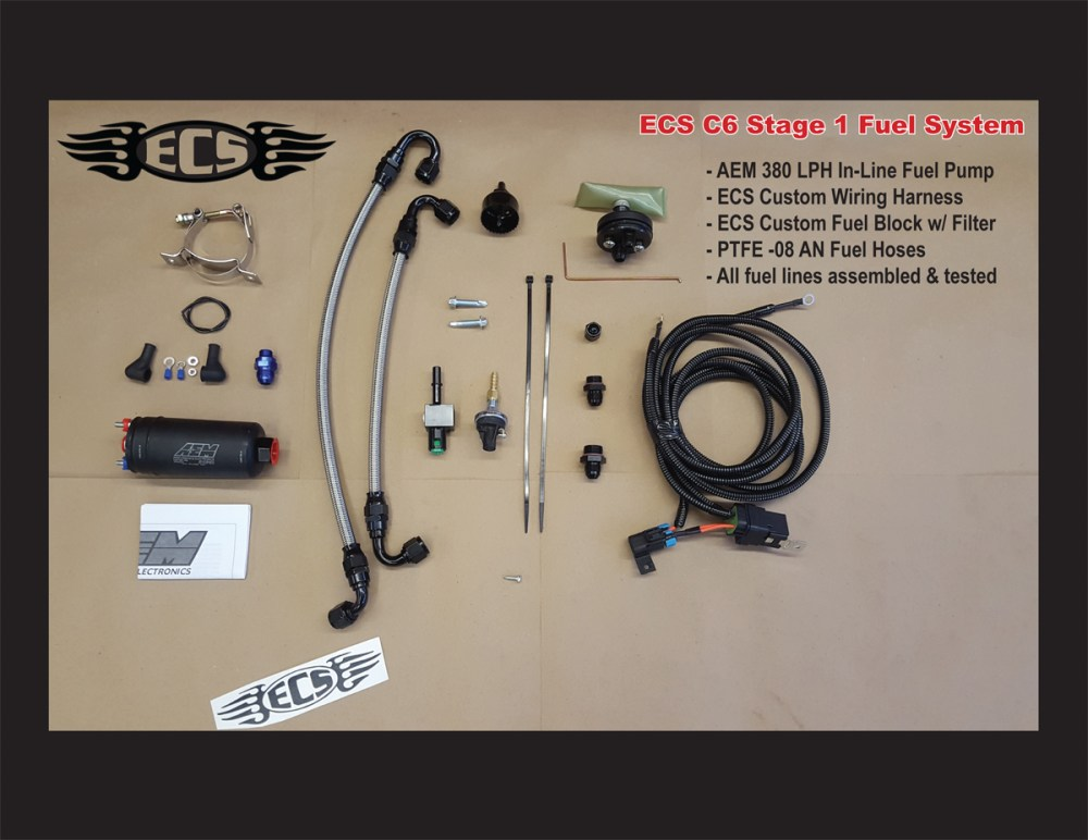 medium resolution of c5 corvette ecs stage i fuel system for 1997 to early 2003 corvettes hat large