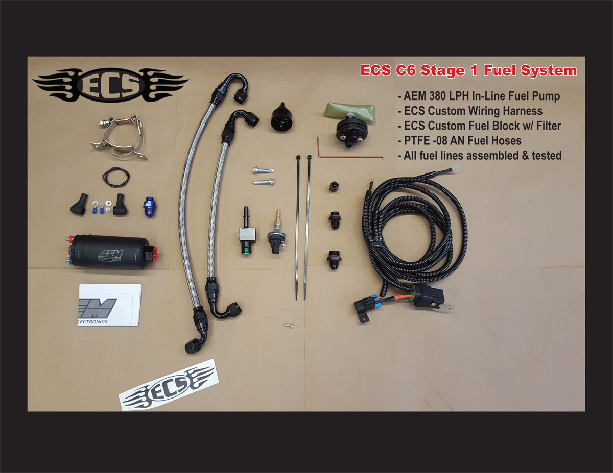 hight resolution of c5 corvette ecs stage i fuel system for 1997 to early 2003 corvettes hat large