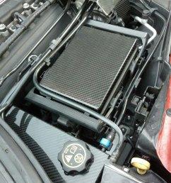 c7 corvette real carbon fiber engine cover package fuse box alternator brake reservoir [ 1080 x 1440 Pixel ]