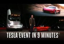 Photo de Tesla a présenté le camion (et la voiture) le plus rapide au monde
