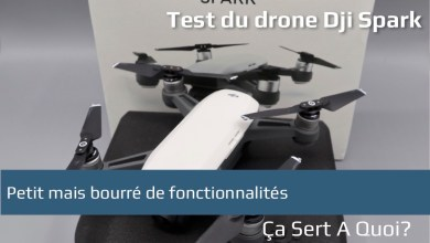 Photo de Test : le drone DJI Spark, petit mais maousse costaud