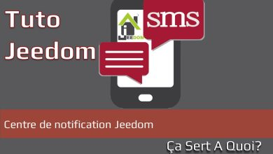 Photo de Tuto : Centre de notification Jeedom