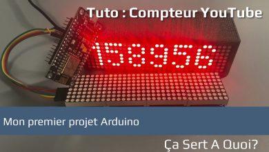 Photo de Tuto : mon premier projet Arduino, un compteur Youtube