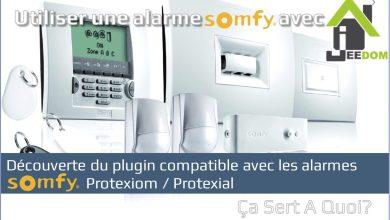 Photo de Utiliser une alarme Somfy avec la domotique Jeedom