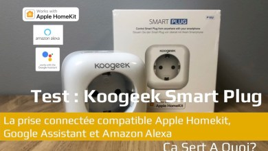Photo of Test : Koogeek Smart Plug, la prise connectée compatible Apple Homekit, Google Assistant et Amazon Alexa