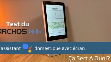 Photo de Test : Archos Hello 7