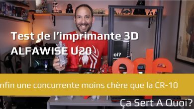 Photo of Test : l'imprimante 3D Alfawise U20