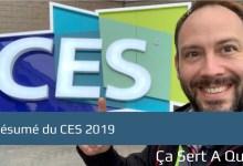 Photo de Mon résumé du CES 2019