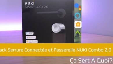 Photo de Pack Serrure Connectée et Passerelle NUKI Combo 2.0