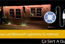Photo of Bandeau Led Blitzwolf Lightstrip
