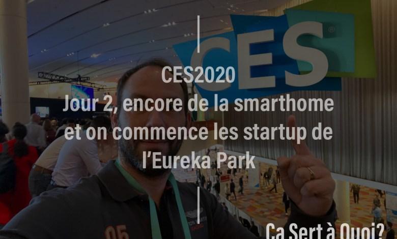 Photo de #CES2020 – Jour 2, encore de la smarthome et on commence les startup de l'Eureka Park