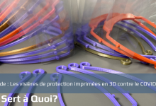 Photo of Les visières de protection imprimées en 3D contre le COVID-19