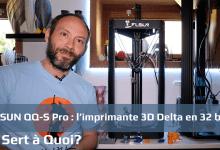 Photo de FLSUN QQ-S Pro : l'imprimante 3D Delta en 32 bits