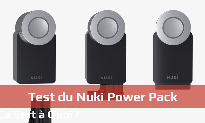 Photo de Test du Nuki Power Pack