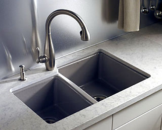 under mount kitchen sink design a layout kohler canada offers several single and double basin undermount sinks to accommodate individual preferences space configurations