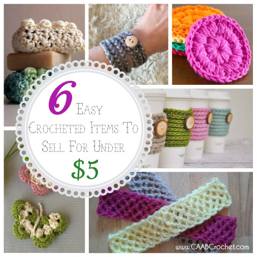 6 easy crocheted items to sell for under 5 cute as a for Crochet crafts that sell well