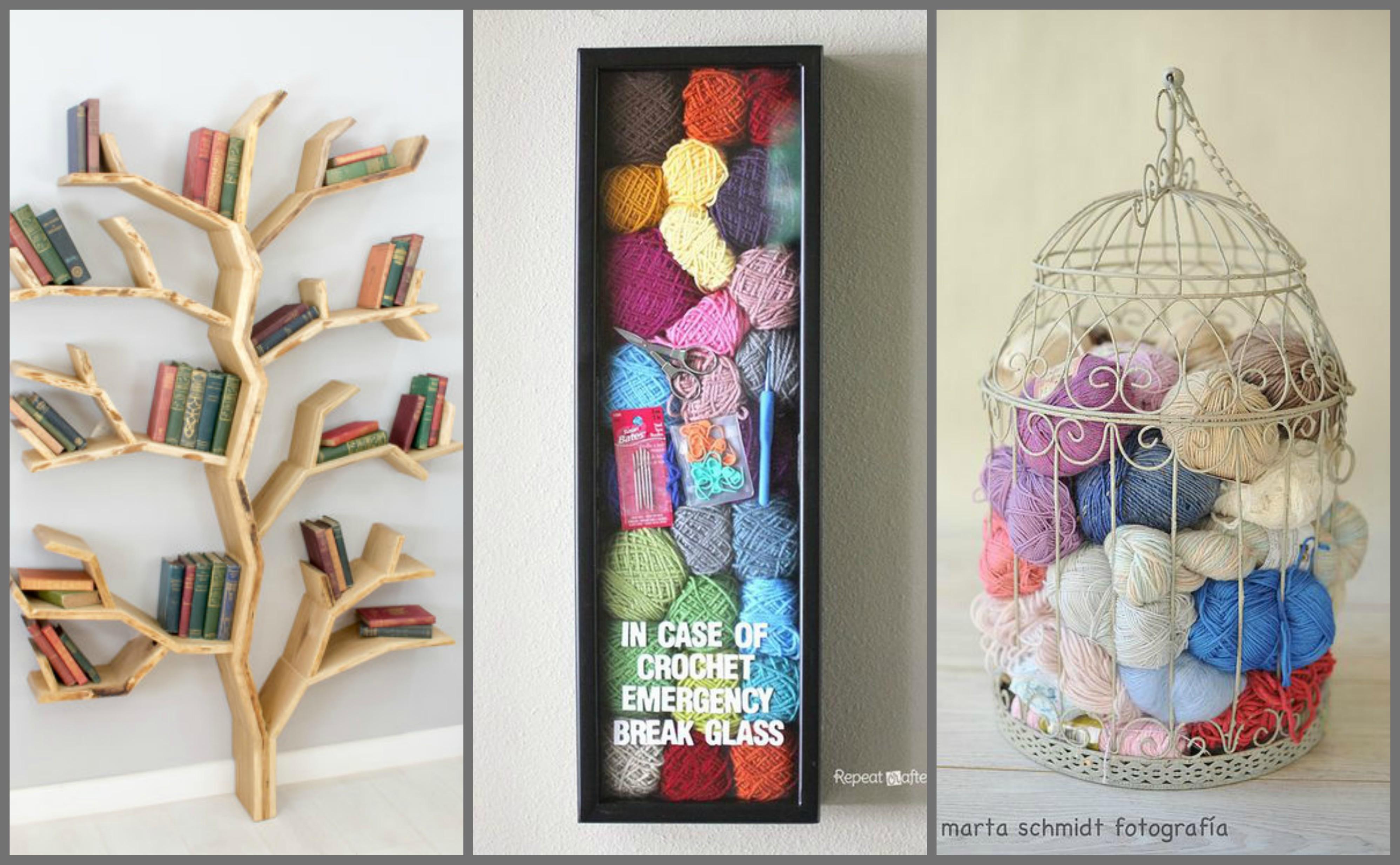 Creative Yarn Storage Ideas