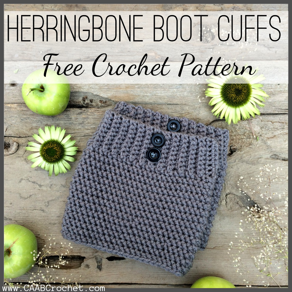 Crochet boot cuff pattern herringbone boot cuff free crochet pattern dt1010fo