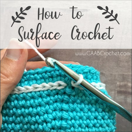 How To Surface Crochet Free Photo Tutorial Great Idea For