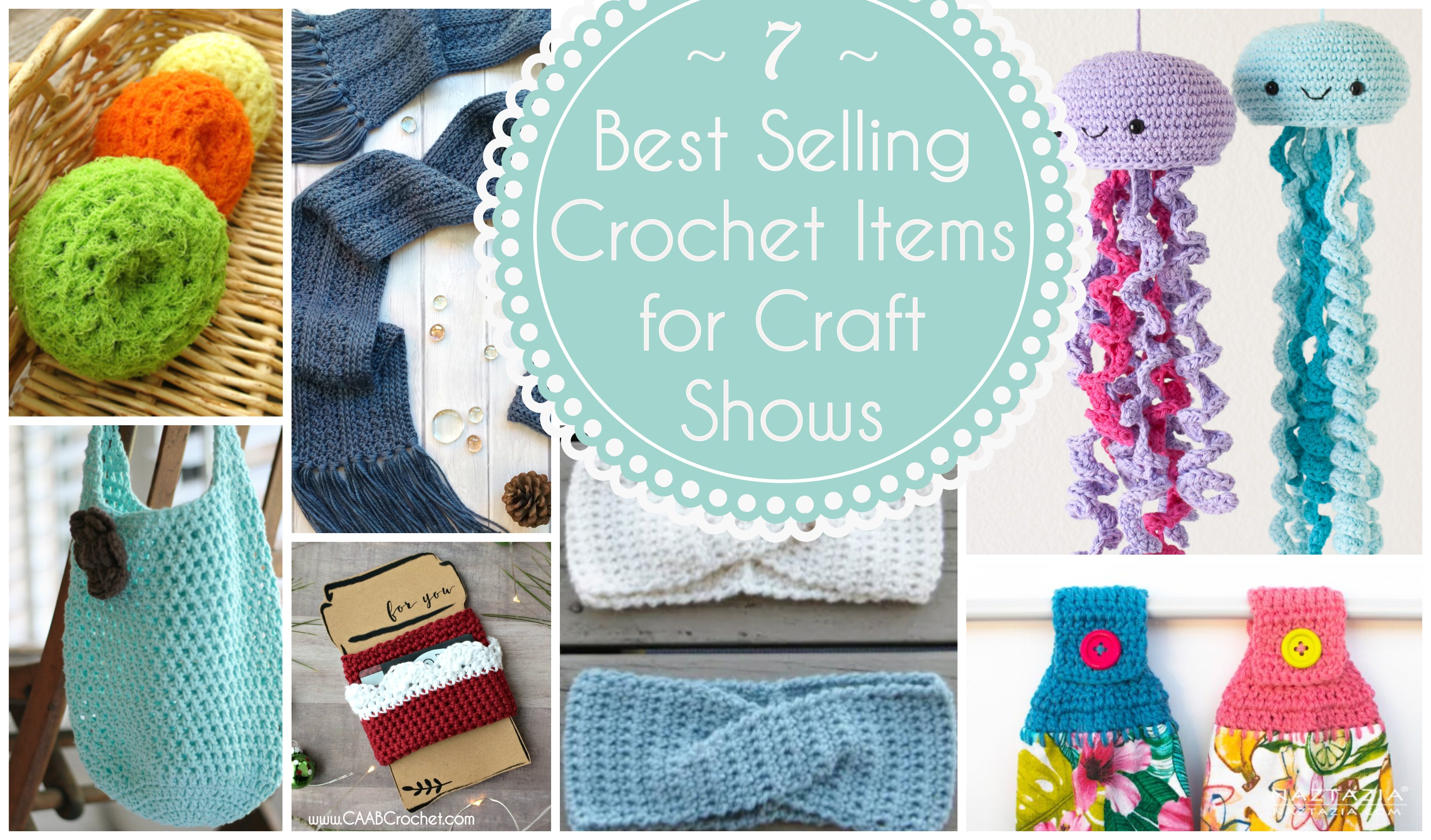 Best Selling Crochet Items For Craft Shows Cute As A Button
