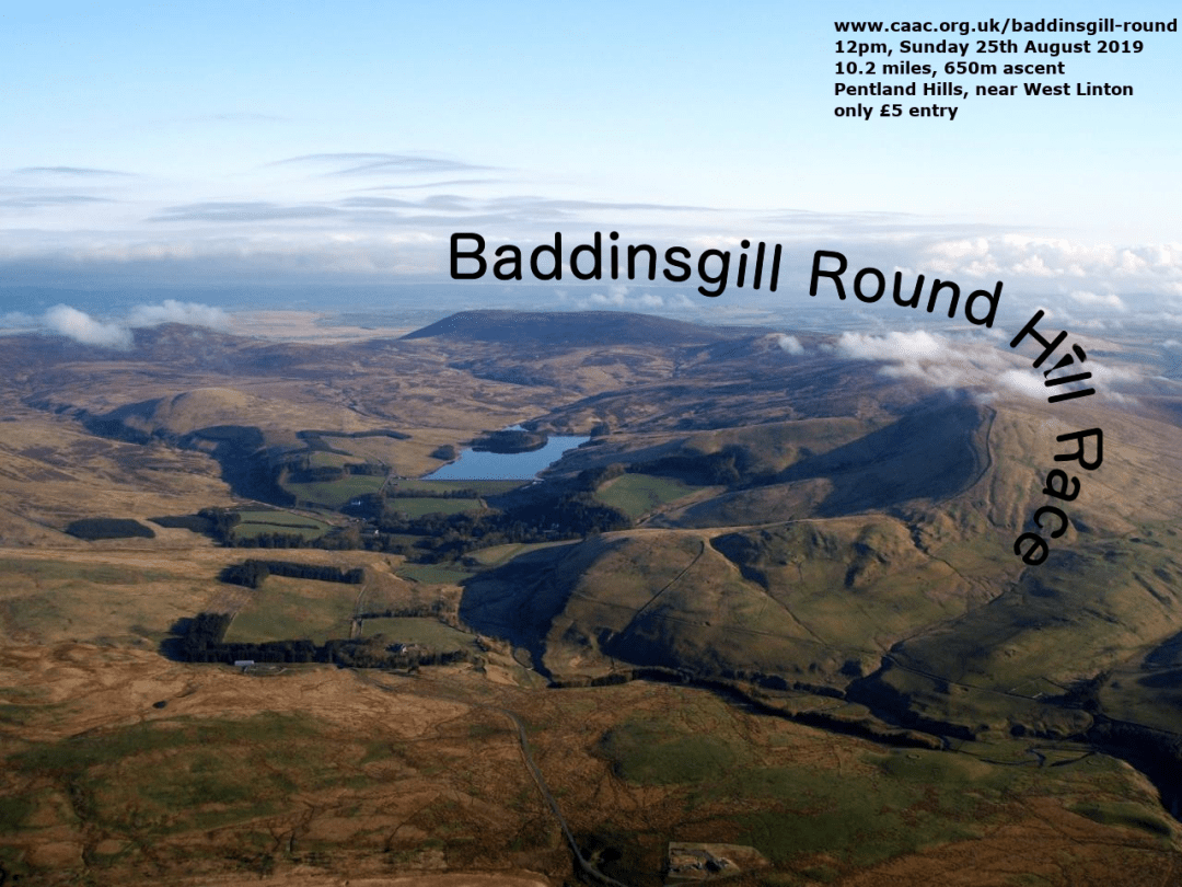 Baddinsgill Round from the air