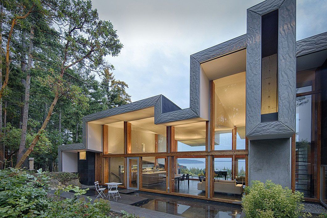 Ridge House By Marko Simcic Amp Brian Broster CAANdesign