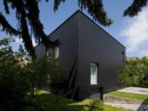 Black Cube House Kameleonlab - Caandesign