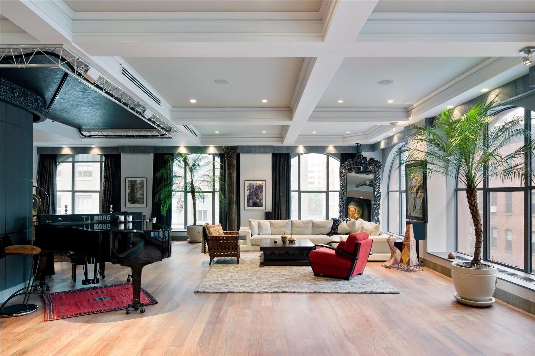 sofa cleaning nyc cost fabric recliner sets uk contemporary 408 greenwich street loft in new york