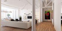 Loft Apartment In Chisinau Grosu Art Studio